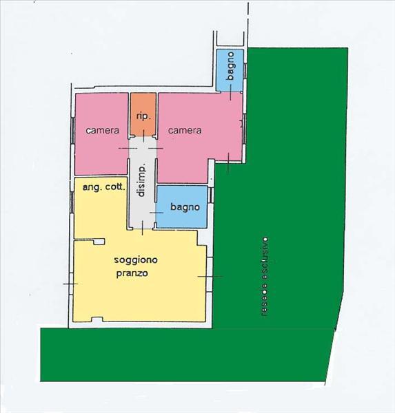Appartamento in vendita a Sarteano, 2 locali, prezzo € 110.000 | Cambio Casa.it