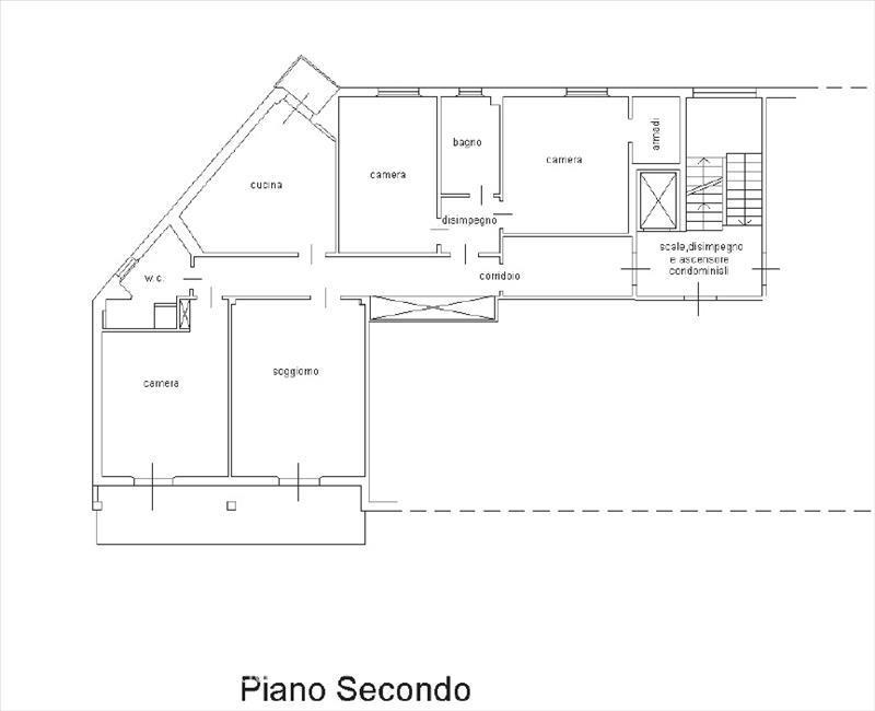 Appartamento in vendita a Sarteano, 3 locali, prezzo € 199.000 | CambioCasa.it