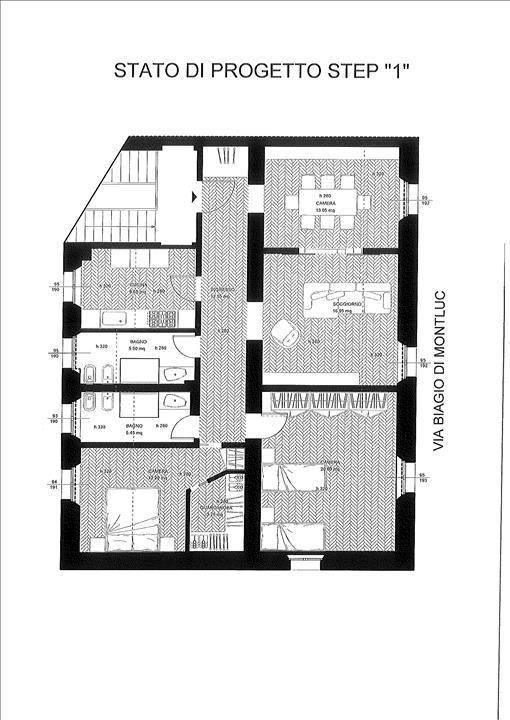 Appartamento Siena AP1366