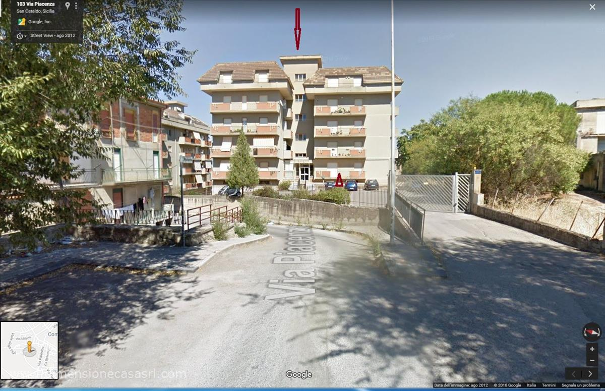 Appartamento in affitto a San Cataldo, 3 locali, prezzo € 390   CambioCasa.it