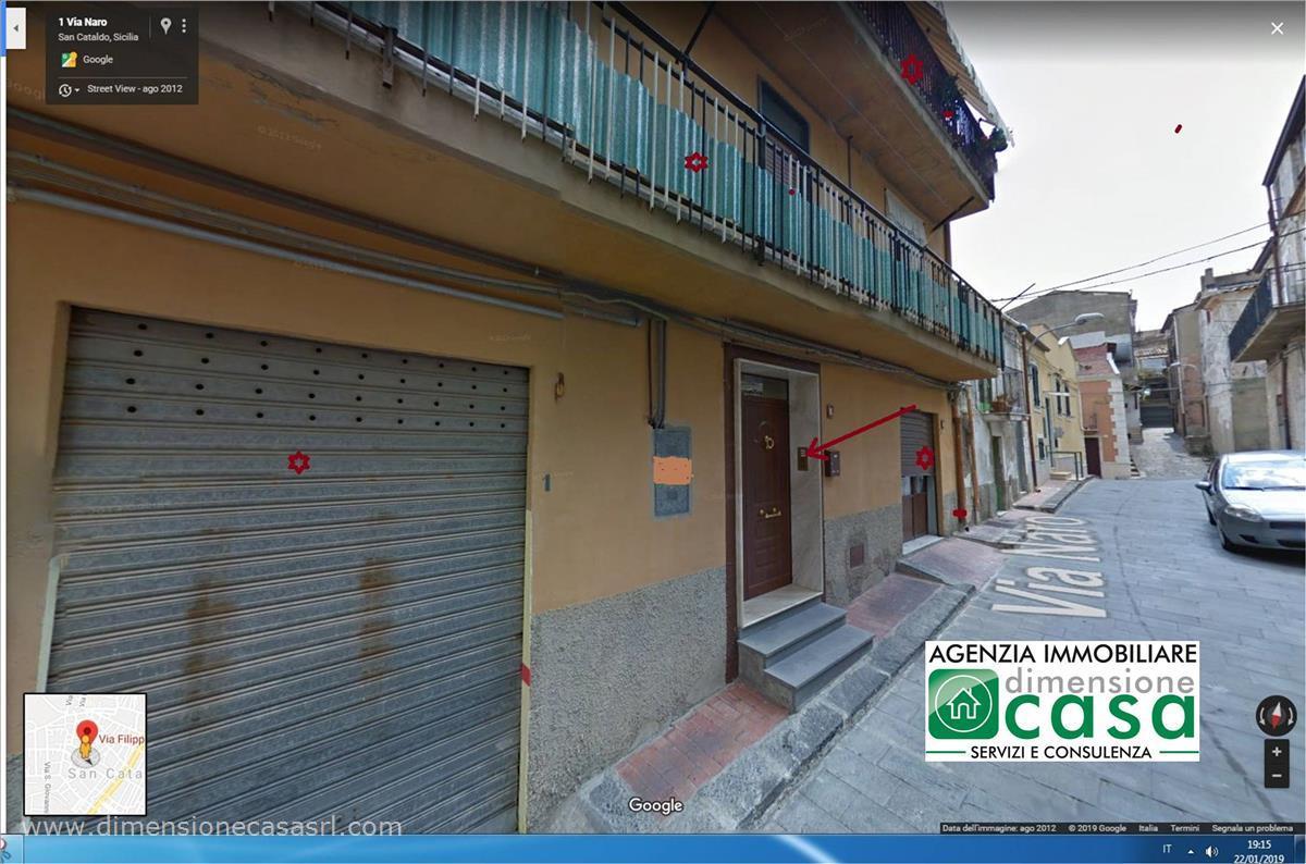 Appartamento in vendita a San Cataldo, 4 locali, prezzo € 96.000 | CambioCasa.it