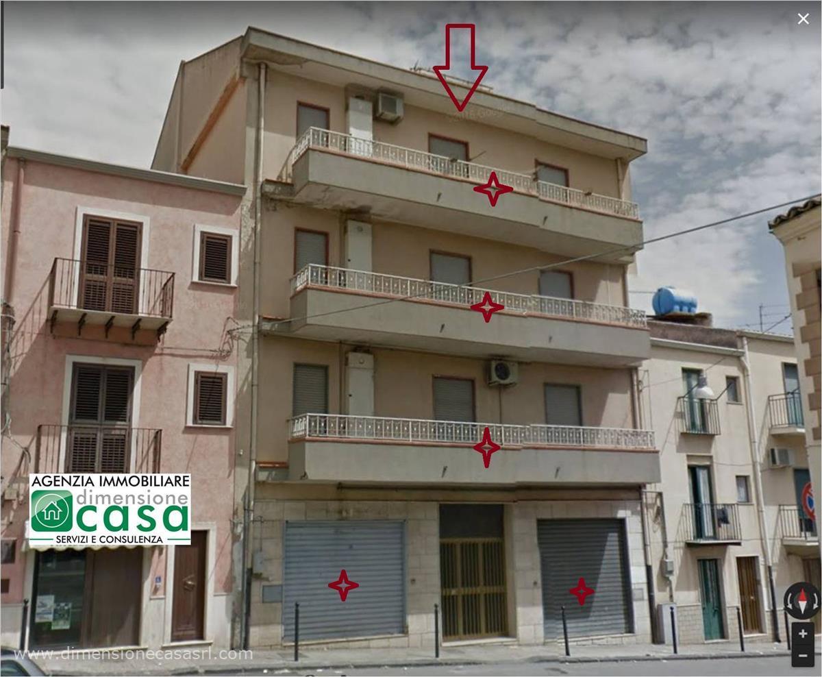 Appartamento in affitto a San Cataldo, 2 locali, prezzo € 320   CambioCasa.it