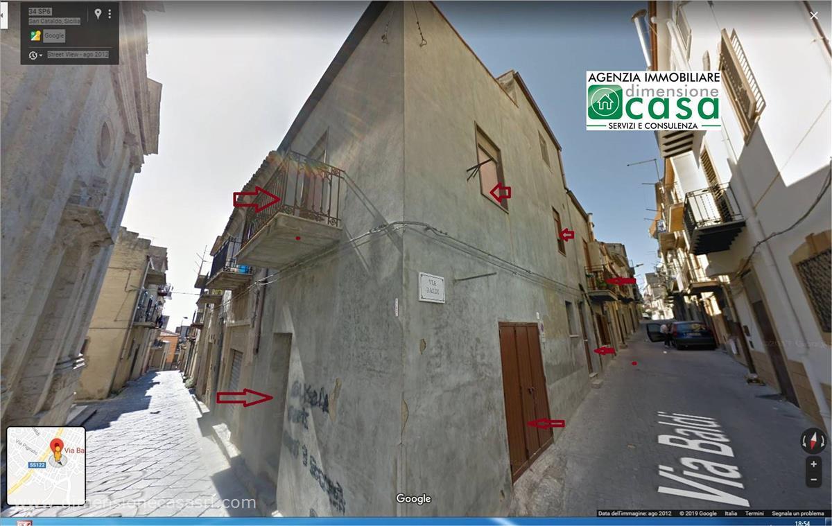 Soluzione Indipendente in vendita a San Cataldo, 2 locali, prezzo € 29.500   CambioCasa.it