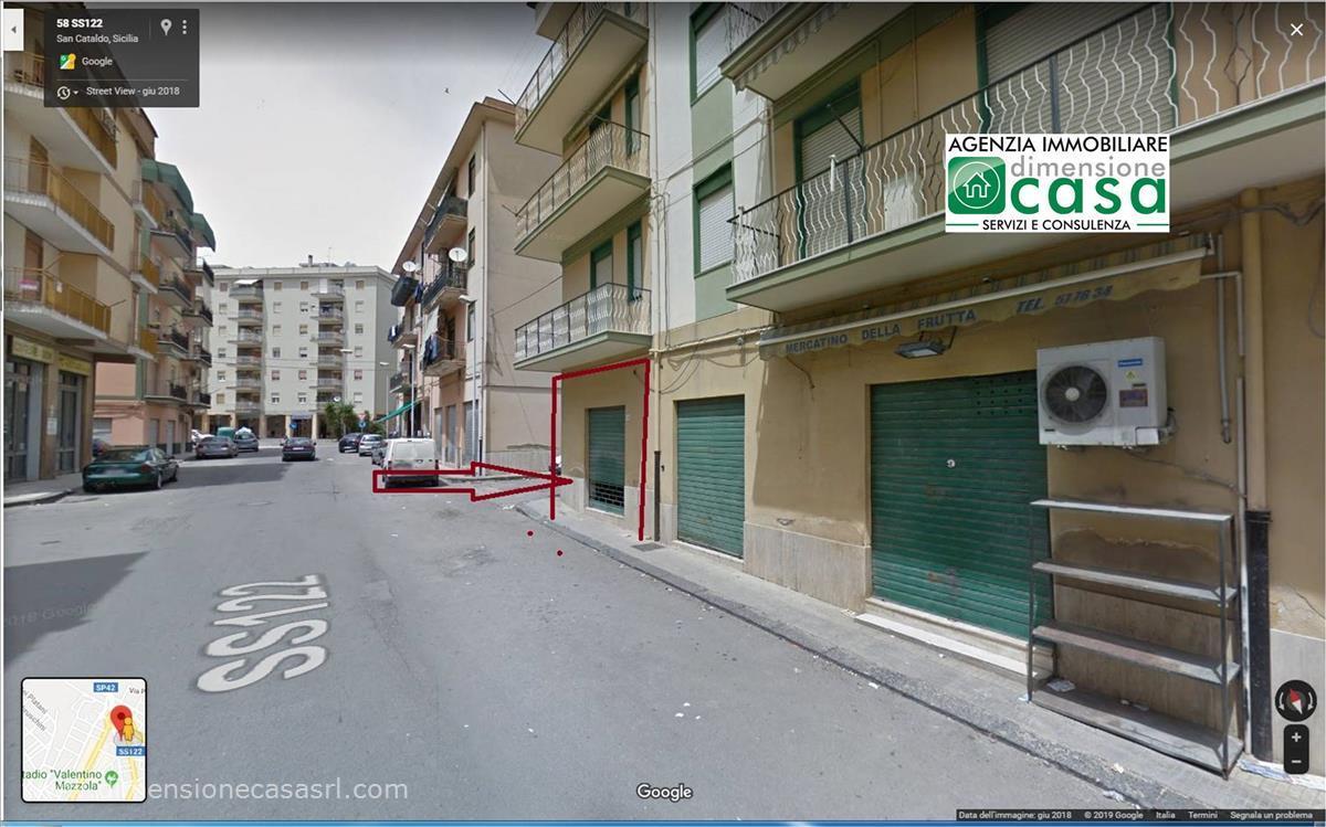 Negozio / Locale in affitto a San Cataldo, 1 locali, prezzo € 280 | CambioCasa.it