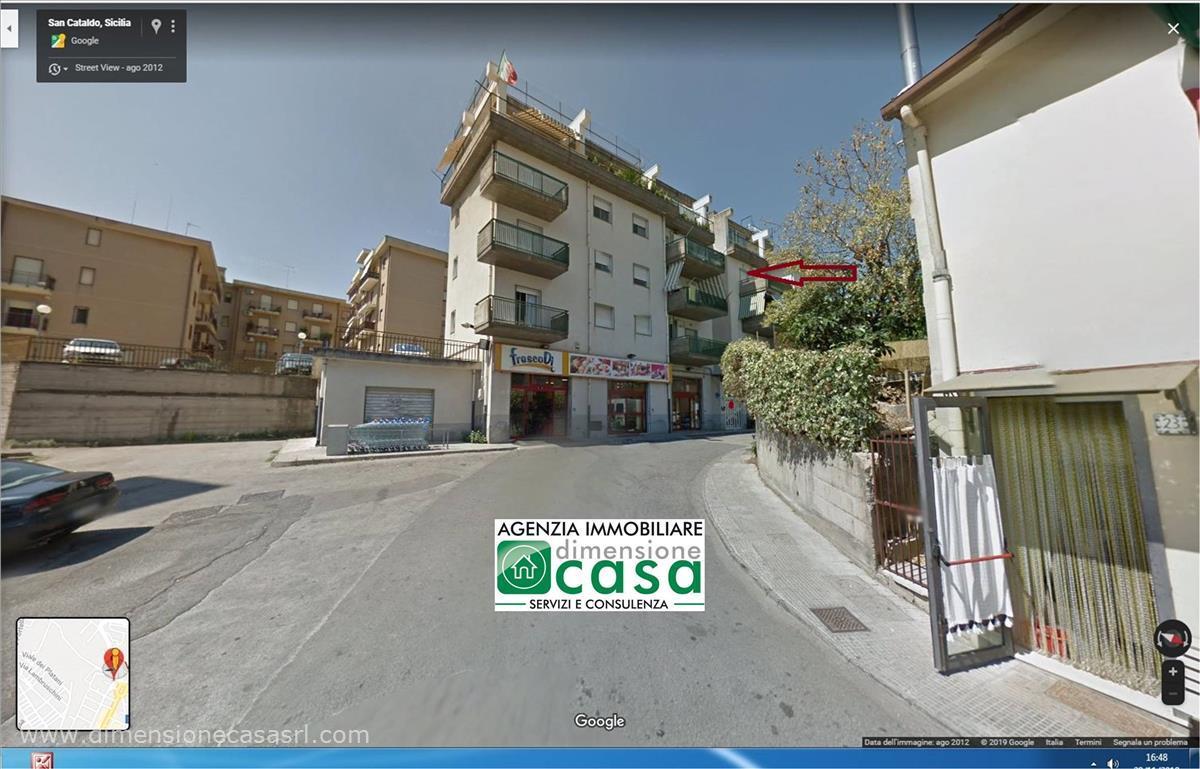 Appartamento in vendita a San Cataldo, 2 locali, prezzo € 73.000   CambioCasa.it