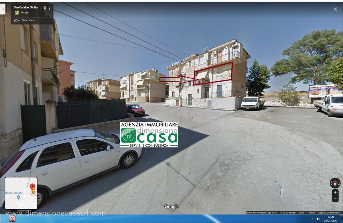 Appartamento in vendita a San Cataldo, 2 locali, prezzo € 35.000   CambioCasa.it