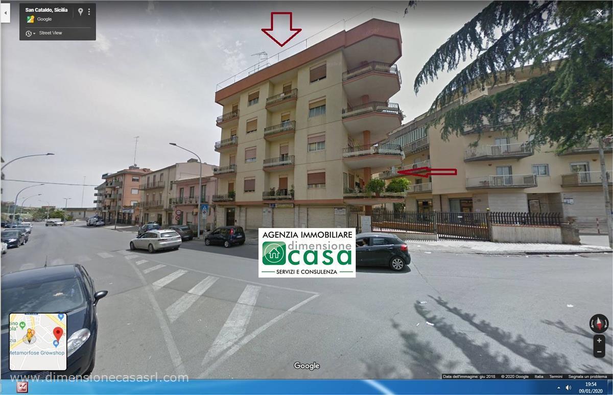Appartamento in vendita a San Cataldo, 2 locali, prezzo € 80.000   CambioCasa.it