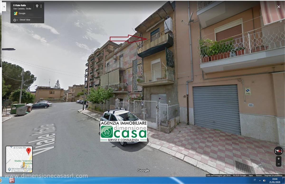 Appartamento in vendita a San Cataldo, 2 locali, prezzo € 47.000   CambioCasa.it